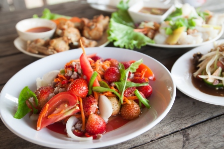 Strawberry Thai Salad