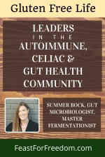 Pinterest mini image - Summer Bock - Leader in the autoimmune, gut microbiome and gut health community with photo