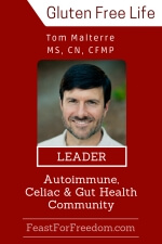 Pinterest mini image - Tom Malterre - Leader in the autoimmune, celiac and gut health community with photo