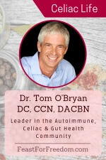 Pinterest mini image - Dr. Tom O'Bryan - Leader in the autoimmune, celiac and gut health community with photo