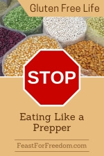 Pinterest mini image - Stop eating like a prepper, with dried beans and seeds