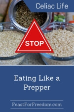 Pinterest mini image - Stop eating like a prepper with dried rice and other grains