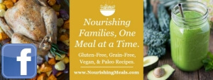 Facebook Page - Nourishing Meals image
