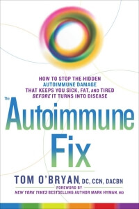Book by Dr. Tom O'Bryan - The Autoimmune Fix